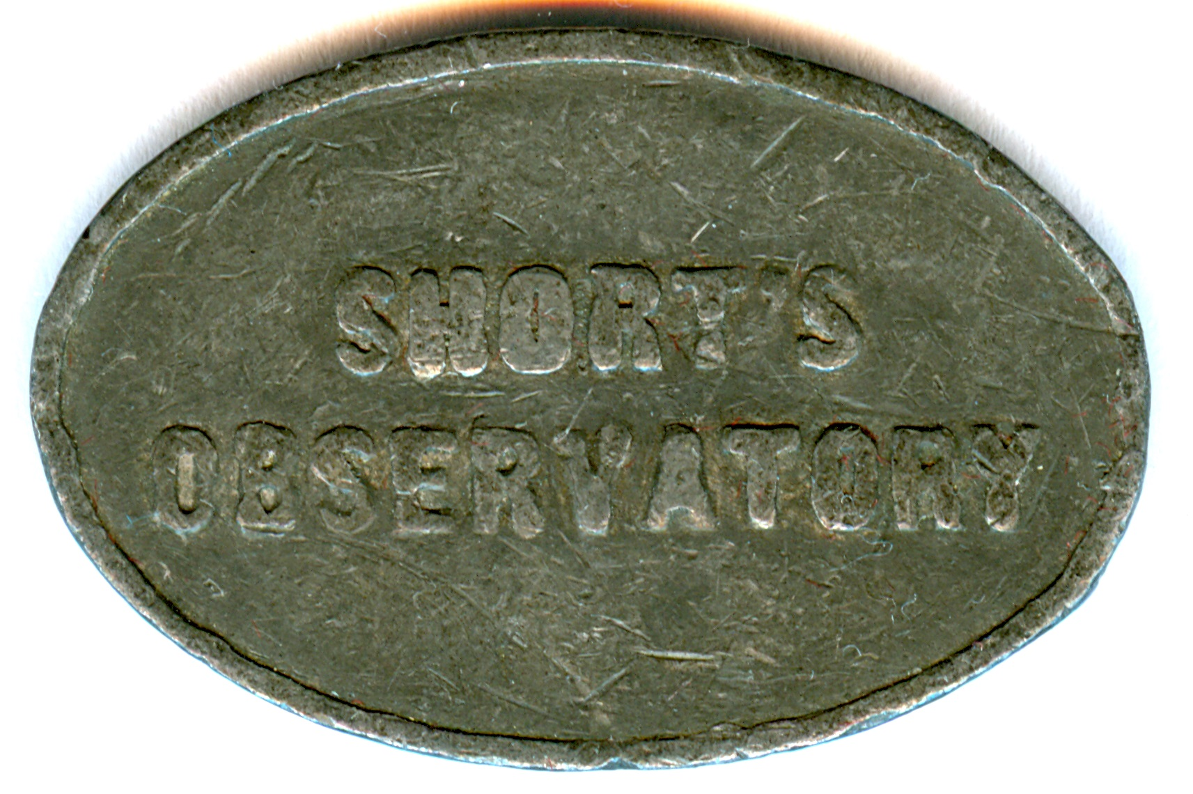 Short's Observatory admission token