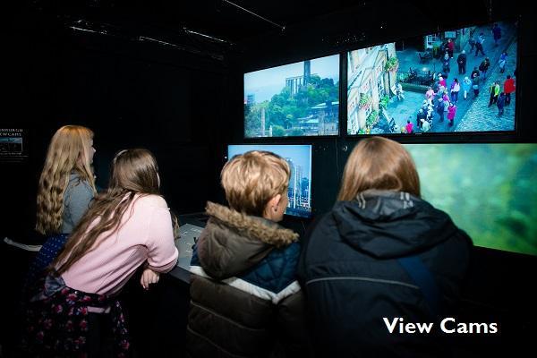 View Cams, Eye Spy Edinburgh at Camera Obscura & World of Illusions