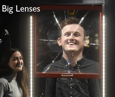 Big Lenses, Magic Gallery, Camera Obscura & World of Illusions