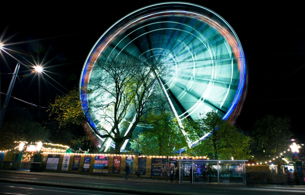 The Forth 1 Big Wheel in Edinburgh