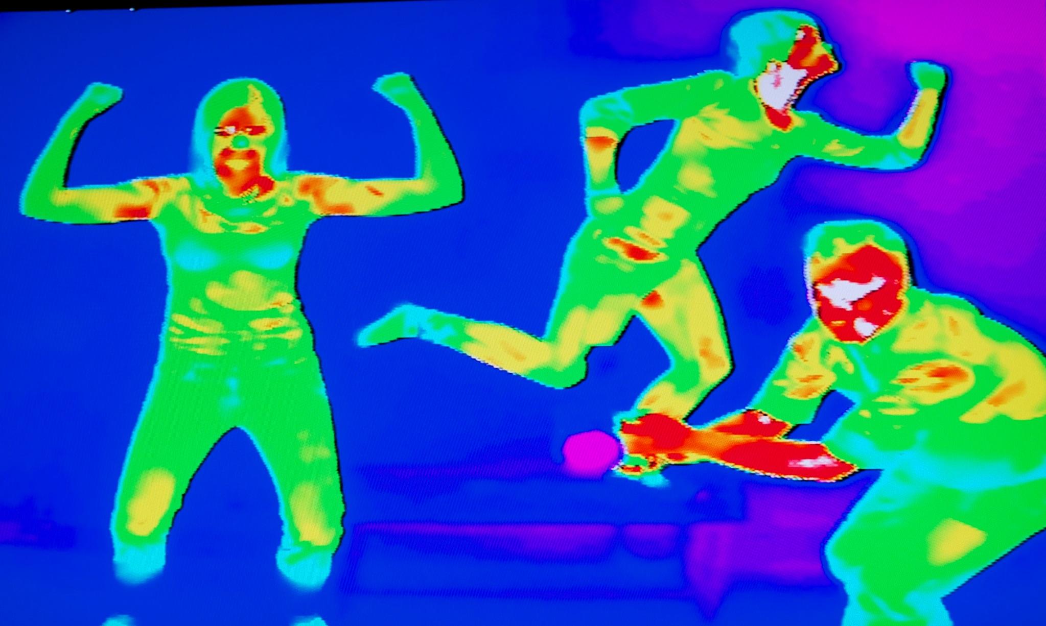 Thermal Camera, Eye Spy Edinburgh at Camera Obscura & World of Illusions