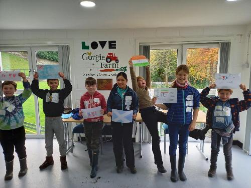 Children at LOVE Gorgie Farm