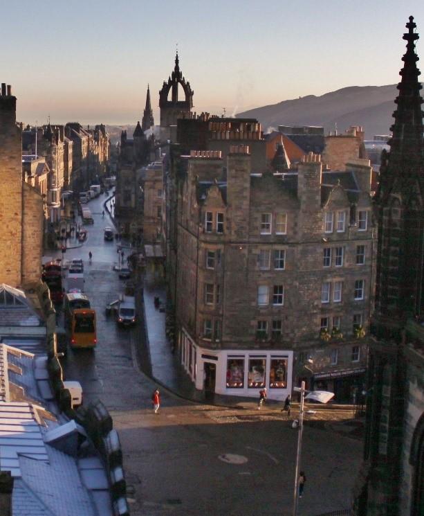 Camera Obscura, Edinburgh, Vintage, Photography, Edinburgh History, Royal Mile, St Giles, Contemporary