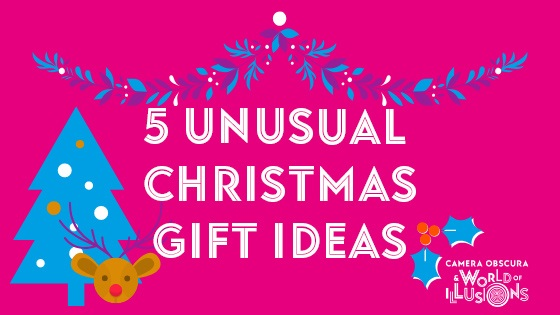 Christmas Gift Ideas at Camera Obscura & World of Illusions