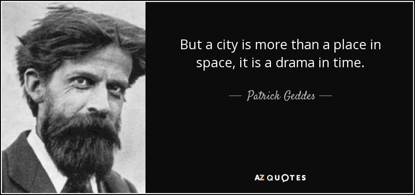 Geddes Quote