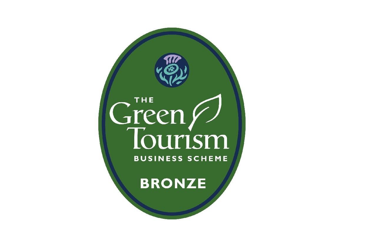 Green Tourism Award from Visit Scotland